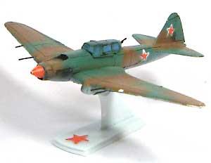 シュトルモビック IL-2M3レジン(紙でコロコロ1/144 ミニミニタリーフィギュア)商品画像_2