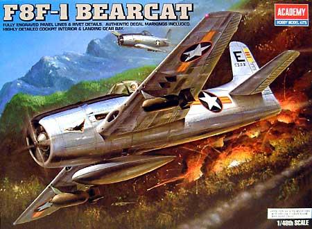 F8F-1 ベアキャットプラモデル(アカデミー1/48 Scale AircraftsNo.2186)商品画像