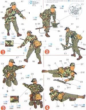 第13SS 山岳部隊 ハンザールプラモデル(ドラゴン1/35 '39-'45 SeriesNo.6067)商品画像_2
