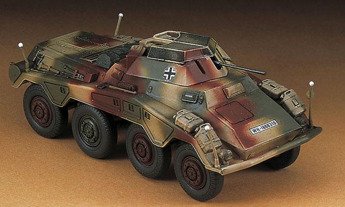 Sd.Kfz.234/1 8輪重装甲偵察車プラモデル(ハセガワ1/72 ミニボックスシリーズNo.MT053)商品画像_3