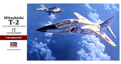 三菱 T-2プラモデル(ハセガワ1/48 飛行機 PTシリーズNo.PT037)商品画像