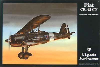 フィアット CR.42 CN 夜間戦闘機仕様プラモデル(クラシックエアフレーム1/48 ミリタリーエアクラフト プラモデルNo.497)商品画像
