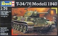 レベル1/76 ミリタリーT-34/76 モデル1940