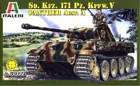 イタレリ1/72 ミリタリーシリーズSd.Kfz.171 パンサー A型