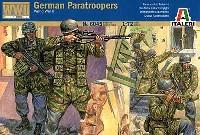 イタレリ1/72 ミリタリーシリーズドイツ降下猟兵