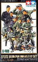 タミヤ1/48 ミリタリーミニチュアシリーズWW2 ドイツ国防軍 歩兵チーム