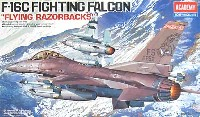 アカデミー1/48 Scale AircraftsF-16C ファイティング ファルコン Flying Razorbacks