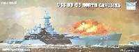 トランペッター1/350 艦船シリーズUSS BB-55 戦艦 ノースカロライナ (1944年)