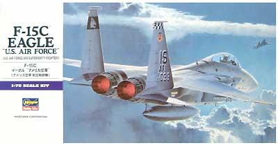 F-15C イーグル アメリカ空軍 (アメリカ空軍 制空戦闘機)プラモデル(ハセガワ1/72 飛行機 EシリーズNo.E013)商品画像