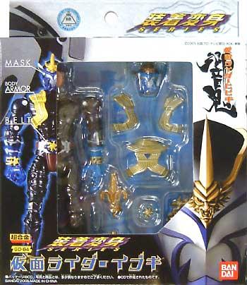 仮面ライダー イブキフィギュア(バンダイ装着変身シリーズNo.GD-084)商品画像