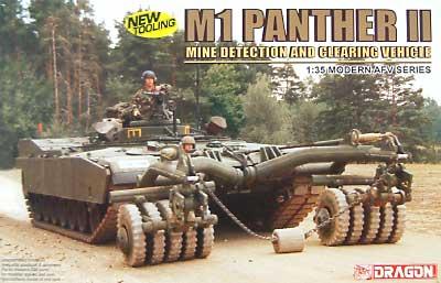 M1 パンサー 2プラモデル(ドラゴン1/35 Modern AFV SeriesNo.3534)商品画像