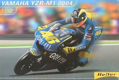 ヤマハ YZR M1 2004プラモデル(エレール1/8~1/12 オートバイモデルNo.80913)商品画像