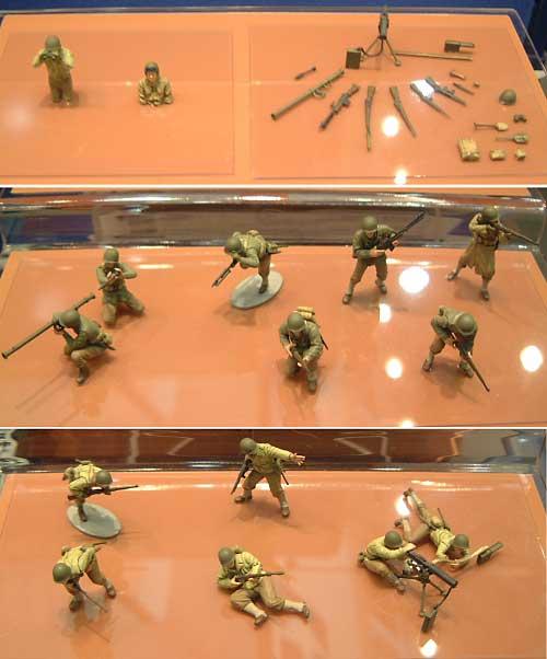 WW2 アメリカ歩兵 GIセットプラモデル(タミヤ1/48 ミリタリーミニチュアシリーズNo.013)商品画像_2