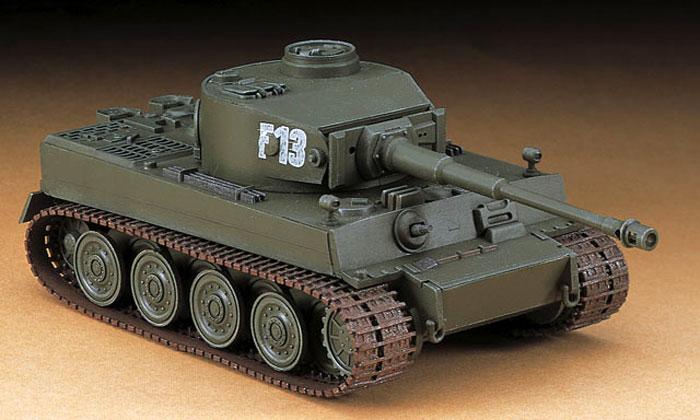 6号戦車 タイガー1 ハイブリッドプラモデル(ハセガワ1/72 ミニボックスシリーズNo.MT055)商品画像_3