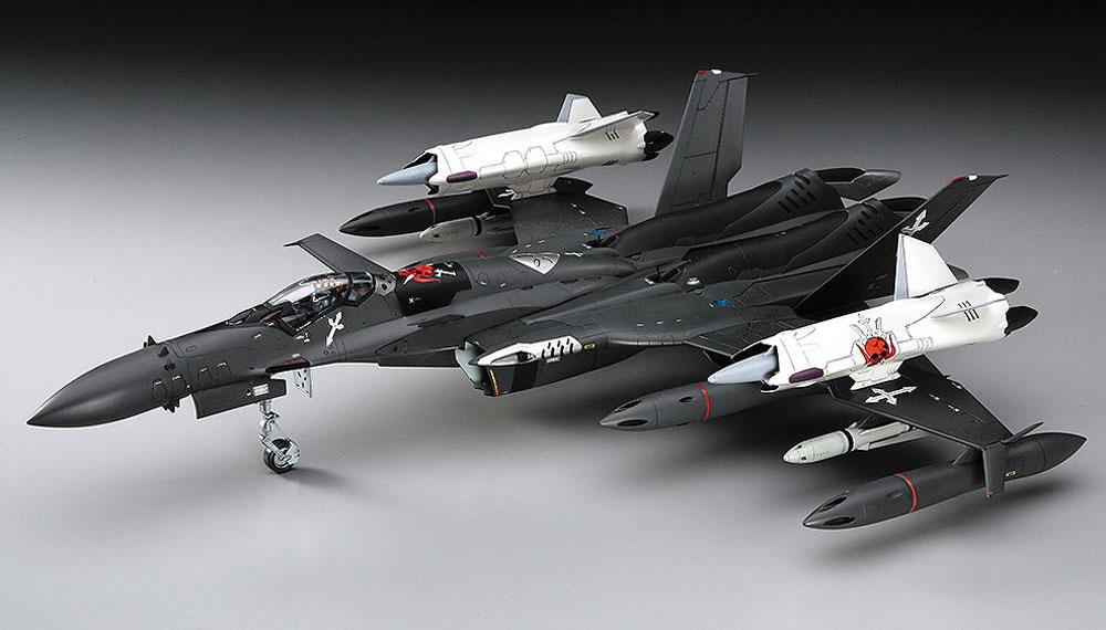 SV-51γ w/ツインブースター マクロスゼロプラモデル(ハセガワ1/72 マクロスシリーズNo.65776)商品画像_2