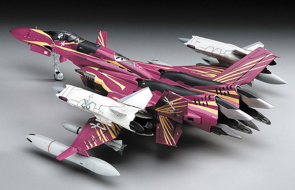 SV-51γ w/ツインブースター マクロスゼロプラモデル(ハセガワ1/72 マクロスシリーズNo.65776)商品画像_3