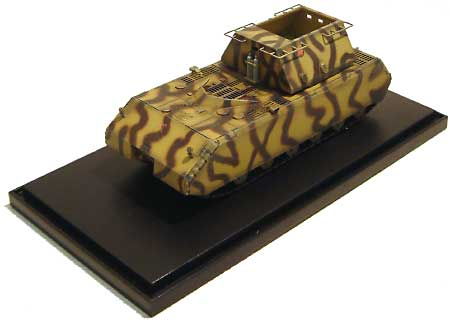ドイツ超重戦車 マウス w/模造砲塔 ベブリンゲン 1944完成品(ドラゴン1/72 ドラゴンアーマーシリーズNo.60157)商品画像_2