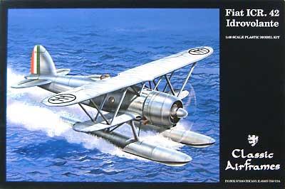 フィアットCR 42 Idrovolante フロート付プラモデル(クラシックエアフレーム1/48 ミリタリーエアクラフト プラモデルNo.498)商品画像