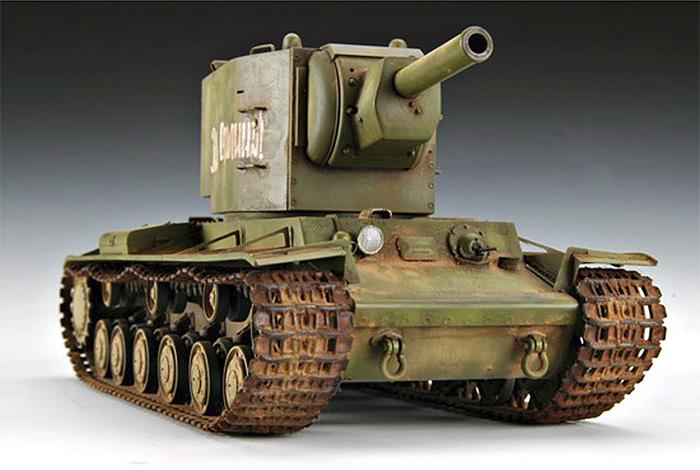 ソビエト KV-2 重戦車プラモデル(トランペッター1/35 AFVシリーズNo.00312)商品画像_3