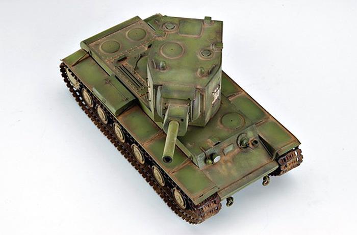 ソビエト KV-2 重戦車プラモデル(トランペッター1/35 AFVシリーズNo.00312)商品画像_4