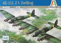 イタレリ1/72 航空機シリーズハインケル He111 Z-1 ツヴァイリンク