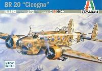 イタレリ1/72 航空機シリーズフィアット BR-20 チコーニャ