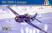 イタレリ1/48 飛行機シリーズTBF/TBM-1 アベンジャー