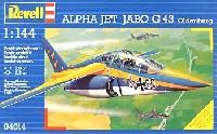 レベル1/144 飛行機アルファジェット JABO G43