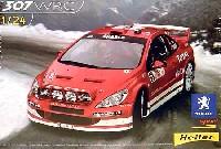 エレール1/24 カーモデルプジョー 307 WRC