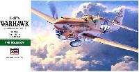ハセガワ1/48 飛行機 JTシリーズP-40N ウォーホーク