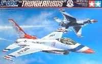 タミヤ1/32 エアークラフトシリーズF-16C ファイティングファルコン サンダーバーズ