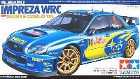 タミヤ1/24 スポーツカーシリーズスバル インプレッサ WRC モンテカルロ '05