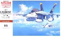 ハセガワ1/48 飛行機 PTシリーズF/A-18F スーパーホーネット (初回特典付)