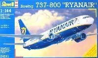レベル1/144 旅客機ボーイング 737-800 RYANAIR
