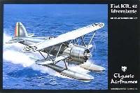 フィアットCR 42 Idrovolante フロート付