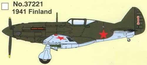 MiG-3 1941 フィンランド完成品(イージーモデル1/72 エアキット(塗装済完成品)No.37221)商品画像_2