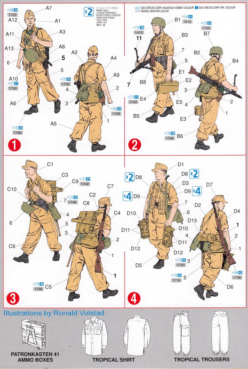 ラムケ旅団 (リビア1942)プラモデル(ドラゴン1/35 '39-'45 SeriesNo.6142)商品画像_2