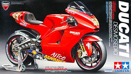 ドゥカティ デスモセディチプラモデル(タミヤ1/12 オートバイシリーズNo.101)商品画像