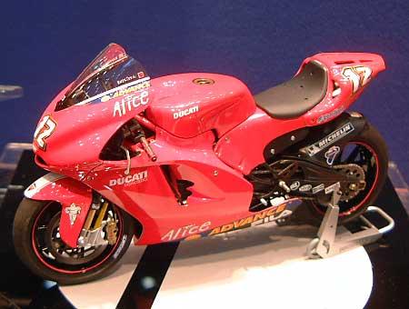 ドゥカティ デスモセディチプラモデル(タミヤ1/12 オートバイシリーズNo.101)商品画像_2