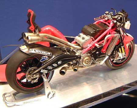 ドゥカティ デスモセディチプラモデル(タミヤ1/12 オートバイシリーズNo.101)商品画像_3