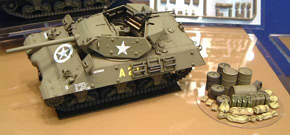 アメリカ M10 駆逐戦車 (中期型)プラモデル(タミヤ1/48 ミリタリーミニチュアシリーズNo.019)商品画像_2