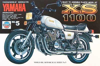 ヤマハ XS 1100プラモデル(ユニオンモデル1/15 ワールド ビッグ モーターサイクル シリーズNo.005)商品画像