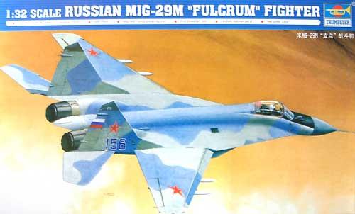 MiG-29M ファルクラムプラモデル(トランペッター1/32 エアクラフトシリーズNo.02238)商品画像
