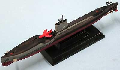 米海軍 レギュラス搭載潜水艦 グレイバック (2)完成品(ピットロード七つの海の物語りNo.PT-023)商品画像_2