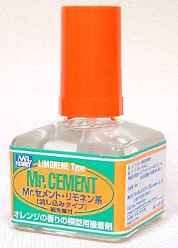 Mr.セメント リモネン系(流し込みタイプ)接着剤(GSIクレオス接着剤・パテNo.MC130)商品画像
