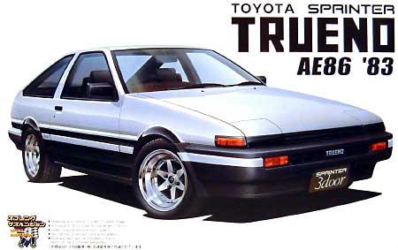 トヨタ スプリンター トレノ AE86 1983 (前期型)プラモデル(アオシマ1/24 ザ・ベストカーGTNo.旧072)商品画像