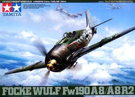フォッケウルフ Fw190A-8/A-8R2プラモデル(タミヤ1/48 傑作機シリーズNo.095)商品画像