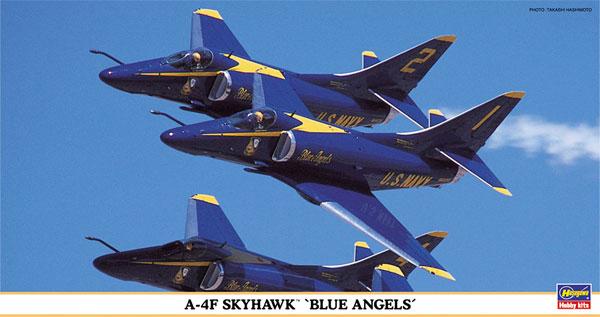 A-4F スカイホーク ブルーエンジェルスプラモデル(ハセガワ1/48 飛行機 限定生産No.09648)商品画像