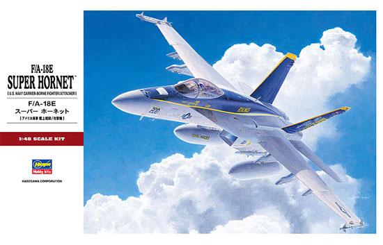 F/A-18E スーパーホーネットプラモデル(ハセガワ1/48 飛行機 PTシリーズNo.PT039)商品画像
