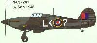 イージーモデル1/72 エアキット(塗装済完成品)ハリケーン Mk.II 87 Sqn. 1942